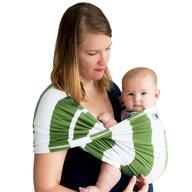 Baby K'tan - Sistem purtare Baby Carrier Print, Olive Stripe, Marimea L