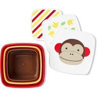 Skip Hop - Set 3 cutii Maimutica Pentru pranz Zoo