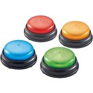Learning Resources - Sonerii cu lumini si sunete pentru raspuns set 4 buc
