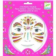 Djeco - Stickere pentru fata, Printesa