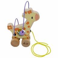 Studio Circus - Jucarie de tras cu bile Girafa