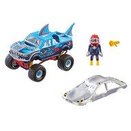 Playmobil - Vehicul Monster Truck Rechin Stunt Show