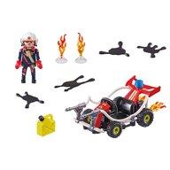 Playmobil - Vehicul De stins incendii Stunt Show