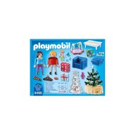 Playmobil - Sufrageria decorata de Craciun