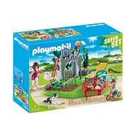 Playmobil - Super set - Gradina familiei