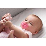 Chicco - Suzeta  silicon Physio Soft Light, forma ortodontica, 6-16 luni, roz