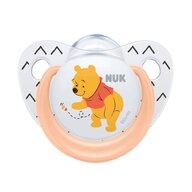 Nuk - NUK - Suzeta  Disney Winnie Silicon M1 Orange 0-6 luni