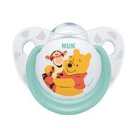 Nuk - NUK - Suzeta  Disney Winnie Silicon M1 Vernil 0-6 luni