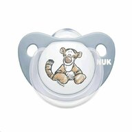 Nuk - Suzeta M2 6-18 luni Winnie The Pooh din Silicon, Albastru