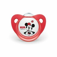 Nuk - NUK - Suzeta  Mickey Silicon M1 Rosu 0-6 luni