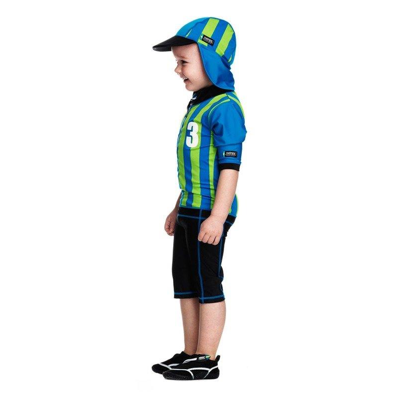 Costum de baie Sport blue marime 98- 104 protectie UV Swimpy din categoria Plaja apa si nisip de la Swimpy