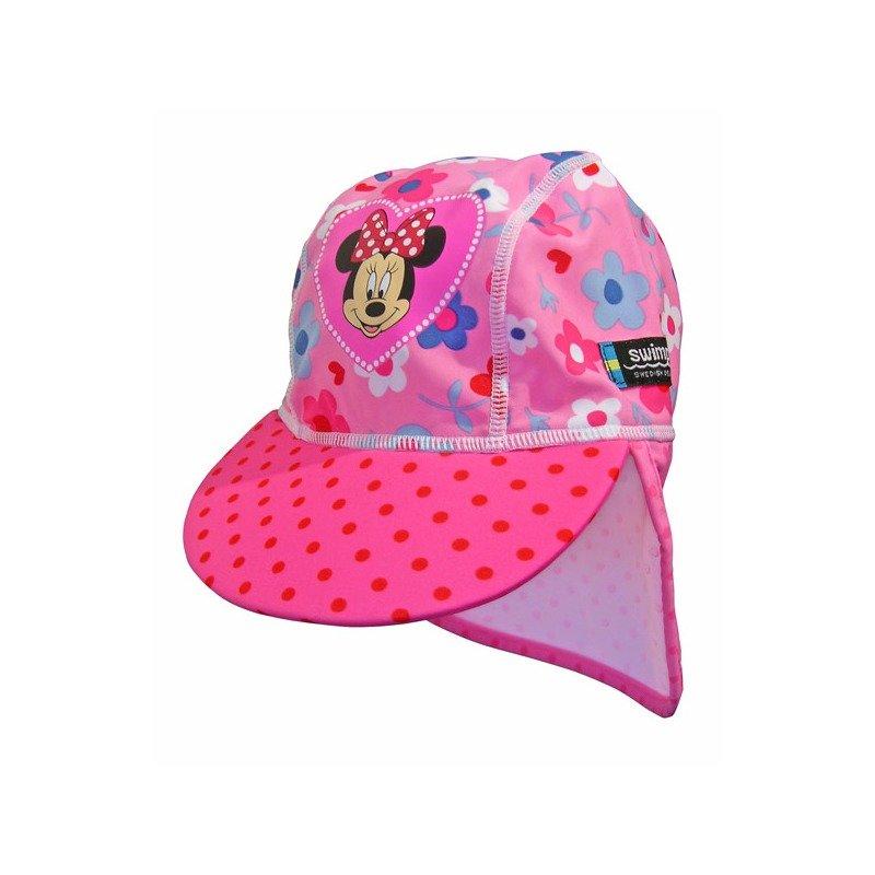 Sapca Minnie Mouse 4-8 ani protectie UV Swimpy