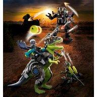 Playmobil - Set de constructie T-rex Batalia Giganticilor , Dino Rise