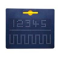 Nexus - Tablita magnetica MagnePad Cu bile si creion, Pentru pregatirea scrisului, Albastru