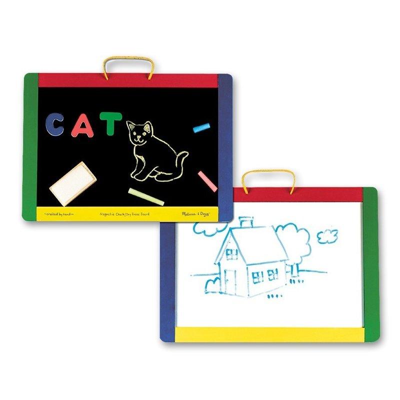 Tabla magnetica si de scris cu litere Melissa and Doug din categoria Jucarii educative de la Melissa & Doug