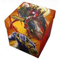 Star - Taburet pliabil cu spatiu de depozitare Avengers  ST54670