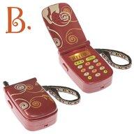 BToys - Telefon muzical rosu