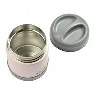 Beaba - Termos mancare solida Thermo-Portion Light  300 ml din Otel, Roz