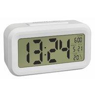 TFA - Termometru si ceas cu senzor de lumina Alb