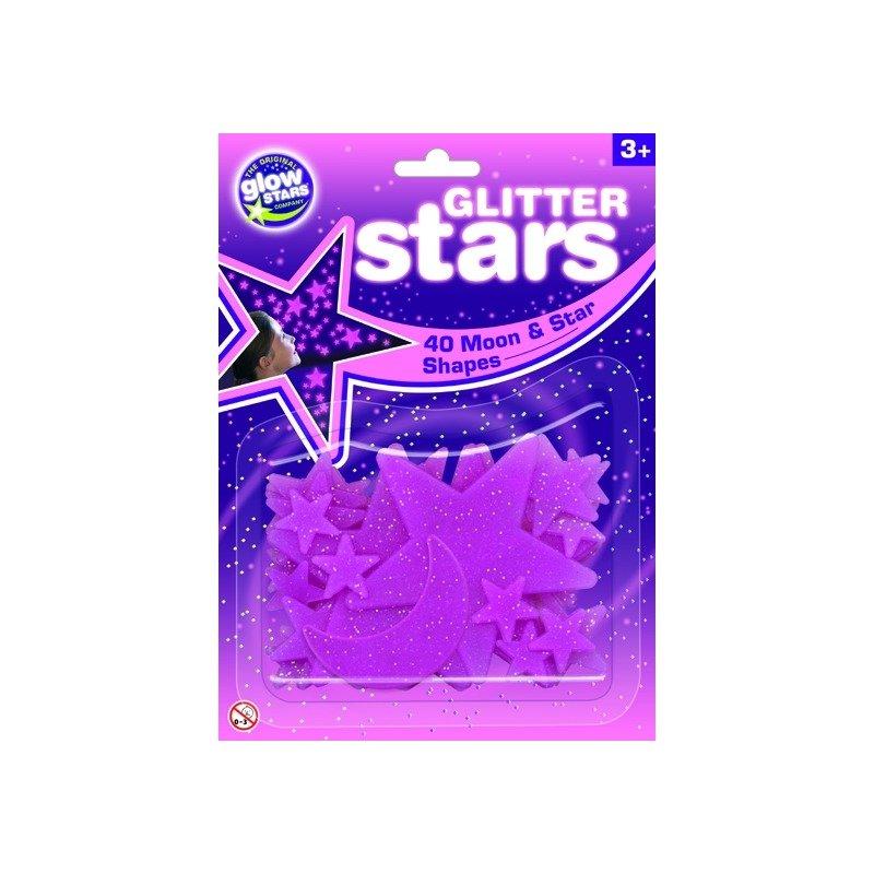 The Original Glowstars Company Stele roz fosforescente The Original Glowstars Company B8620 din categoria Mobila si decoratiuni de la The Original Glowstars Company
