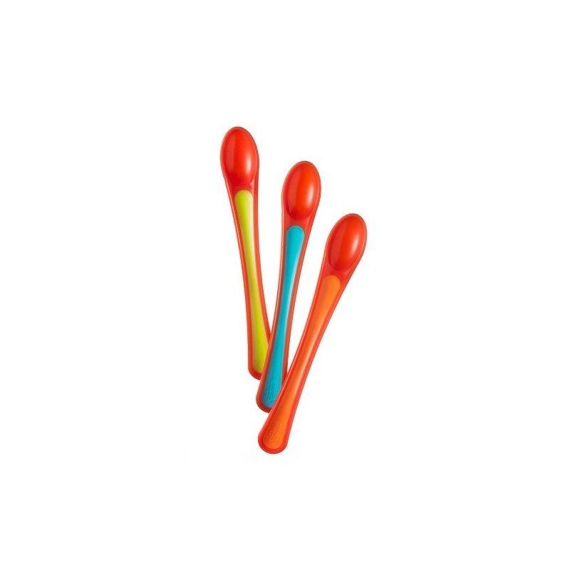 Tommee Tippee – Lingurite Termosensibile x 3 buc din categoria Canute boluri si tacamuri de la Tommee Tippee