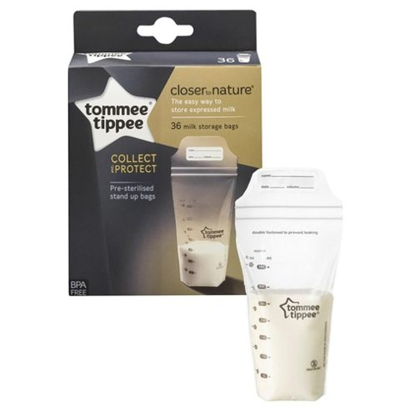 Tommee Tippee Pungi de stocare lapte matern Closer to Nature Tommee Tippee 36 buc din categoria Prepararea hranei de la Tommee Tippee