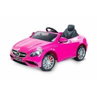 Toyz - Mercedes-Benz S63 amg 12V Pink cu telecomanda