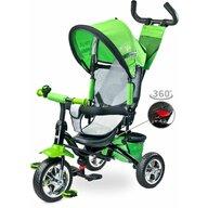 Toyz - Tricicleta Timmy Suport picioare, Control al directiei, Rotire 360 grade, Verde