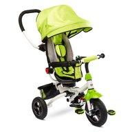 Toyz - Tricicleta Mecanism de pedalare libera, Suport picioare, Control al directiei, Pliabila Wroom, Verde