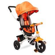 Toyz - Tricicleta Mecanism de pedalare libera, Suport picioare, Control al directiei, Pliabila Wroom, Portocaliu