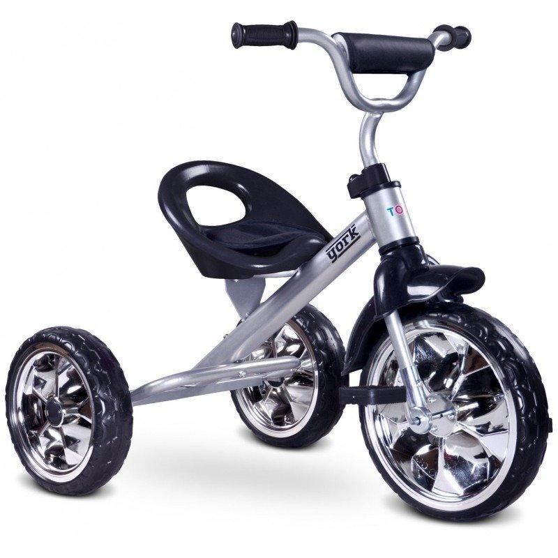 Toyz Tricicleta YORK Grey din categoria Triciclete si Trotinete pentru copii de la TOYZ