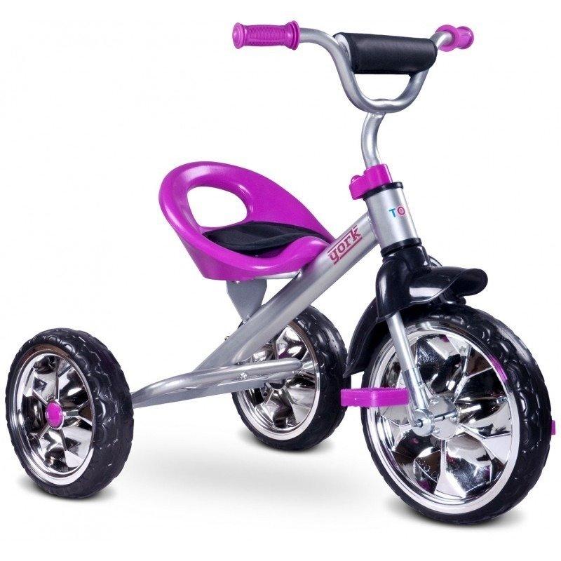 Toyz Tricicleta YORK Purple din categoria Triciclete si Trotinete pentru copii de la TOYZ