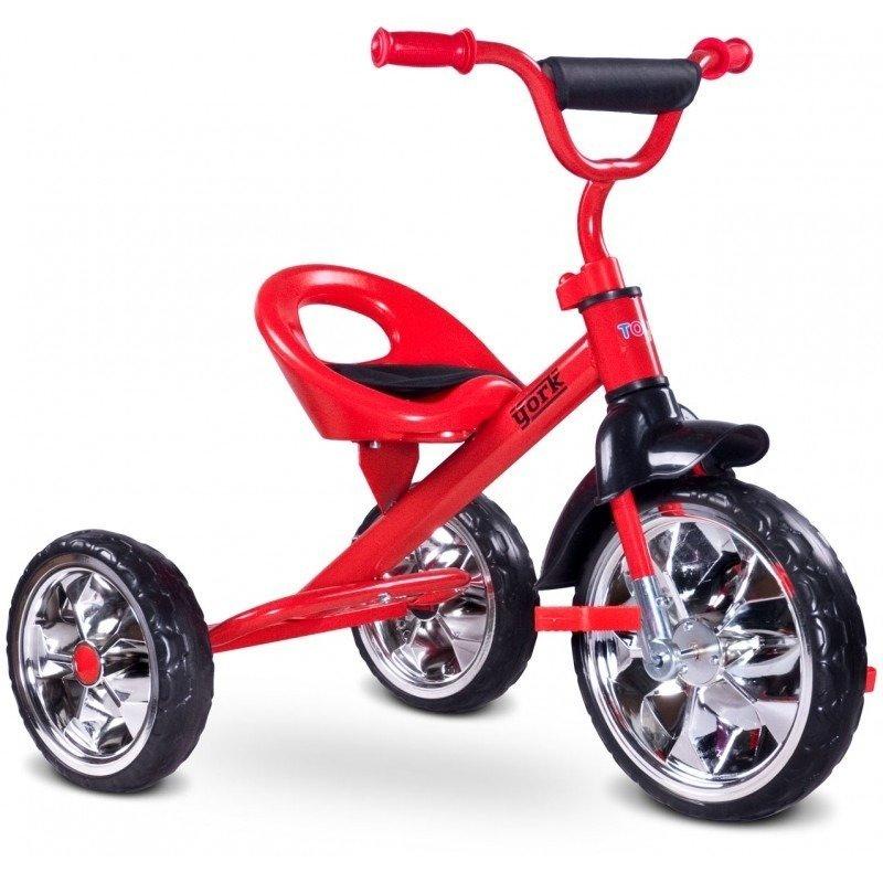 Toyz Tricicleta YORK Red din categoria Triciclete si Trotinete pentru copii de la TOYZ