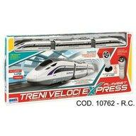 RS Toys - Tren Cu telecomanda Electric, Cu sina, 49 piese