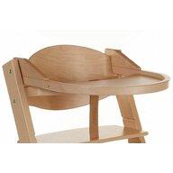 Treppy - Tavita din lemn pentru scaun masa Treppy Natur