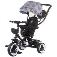 Chipolino - Tricicleta Jazz Mecanism de pedalare libera, Suport picioare, Control al directiei, Rotire 360 grade, Transformabila Mist