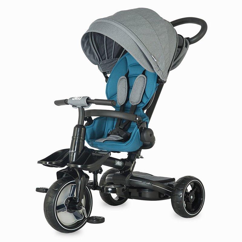 Tricicleta COCCOLLE Alto multifunctionala Albastru din categoria Triciclete si Trotinete pentru copii de la Coccolle