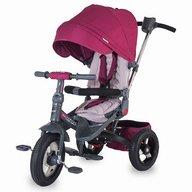 Coccolle - Tricicleta Corso multifunctionala, roti cauciuc, violet