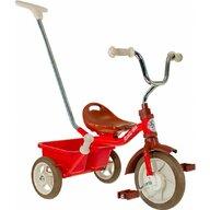 Italtrike - Tricicleta Passenger Champion Mecanism de pedalare libera, Control al directiei, Rosu