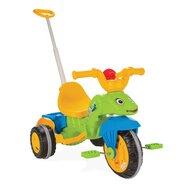 Pilsan - Tricicleta Caterpillar Mecanism de pedalare libera, Suport picioare, Control al directiei, Verde