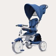 Coccolle - Tricicleta cu sezut reversibil Evo (2019) Albastru