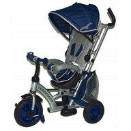 Baby Mix - Tricicleta Sunrise Turbo Trike Mecanism de pedalare libera, Suport picioare, Control al directiei, Scaun reversibil, Albastru