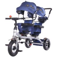 Chipolino - Tricicleta gemeni 2Play navy