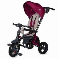 Coccolle - Tricicleta Velo Suport picioare, Control al directiei, Scaun reversibil, Spatar reglabil, Pliabila, Violet