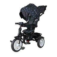 Lorelli - Tricicleta Neo Eva Wheels Mecanism de pedalare libera, Suport picioare, Control al directiei, Spatar reglabil, Rotire 360 grade