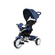 Lorelli - Tricicleta One Suport picioare, Control al directiei, Scaun reglabil, Albastru
