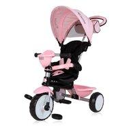 Lorelli - Tricicleta Mecanism de pedalare libera, Suport picioare, Control al directiei One, Rosu