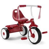 Radio Flyer - Tricicleta Fold 2 Go Pliabila, Scaun reglabil, Rosu
