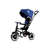 Tricicleta Qplay Rito Mecanism de pedalare libera, Control al directiei, Pliabila, Albastru