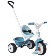 Smoby - Tricicleta Be Move Mecanism de pedalare libera, Control al directiei, Albastru